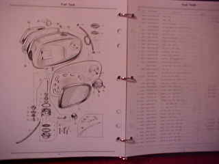 crb manuals honda ca77 305 dream parts manual your choice of 3 ring binder clear cover red original honda cover insert or red cover w spiral binding